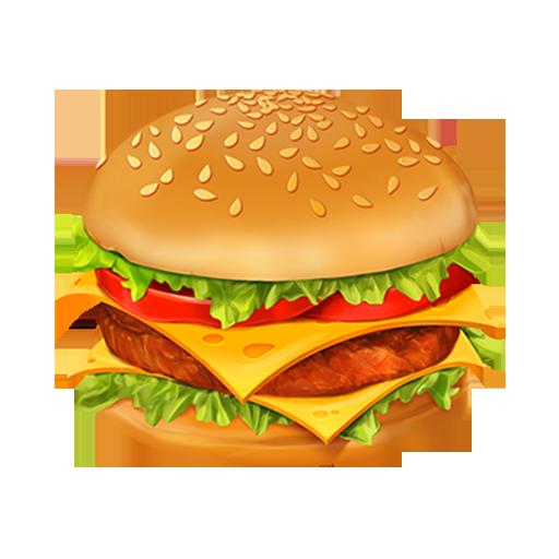 Cheeseburger clipart transparent background. Hamburger png pic mart
