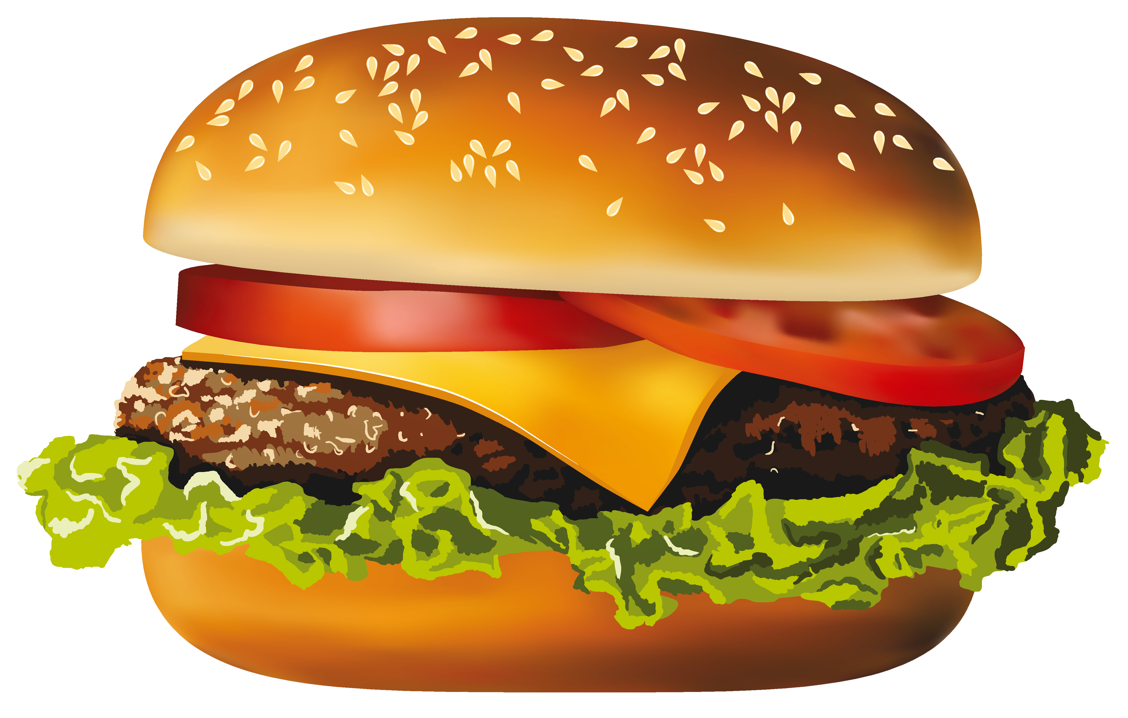 Potato clipart high re. Hamburger png vector gallery