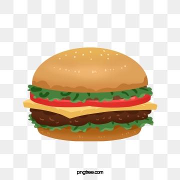 Hamburger png psd and. Cheeseburger clipart vector