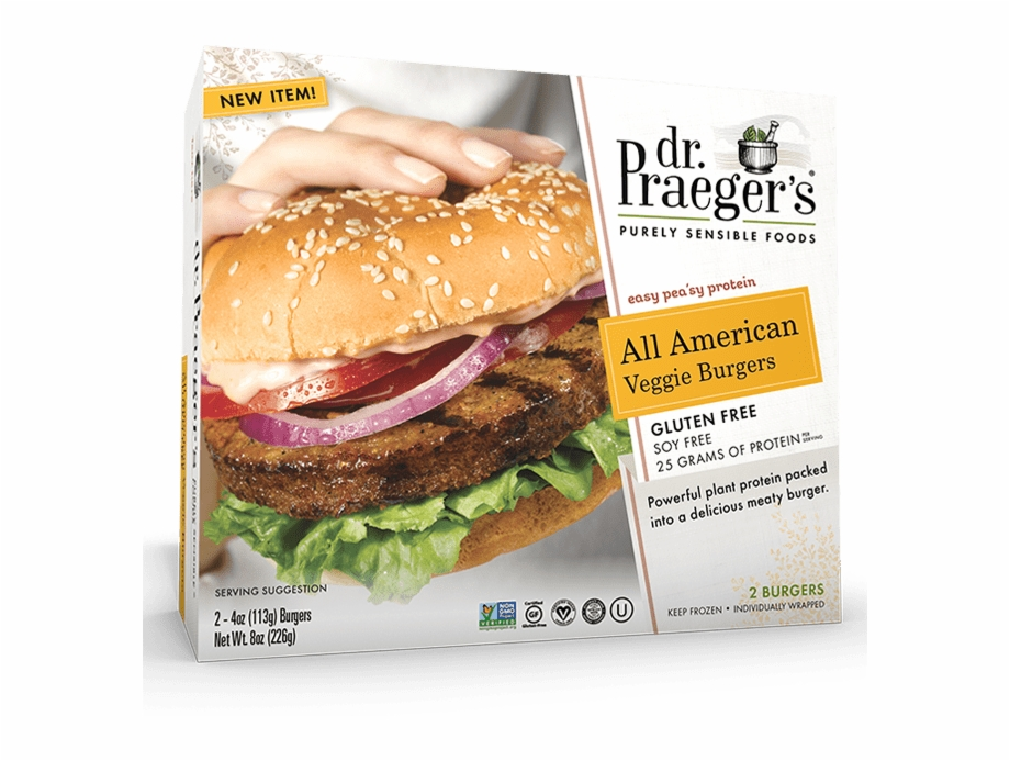 All american dr praeger. Cheeseburger clipart veggie burger