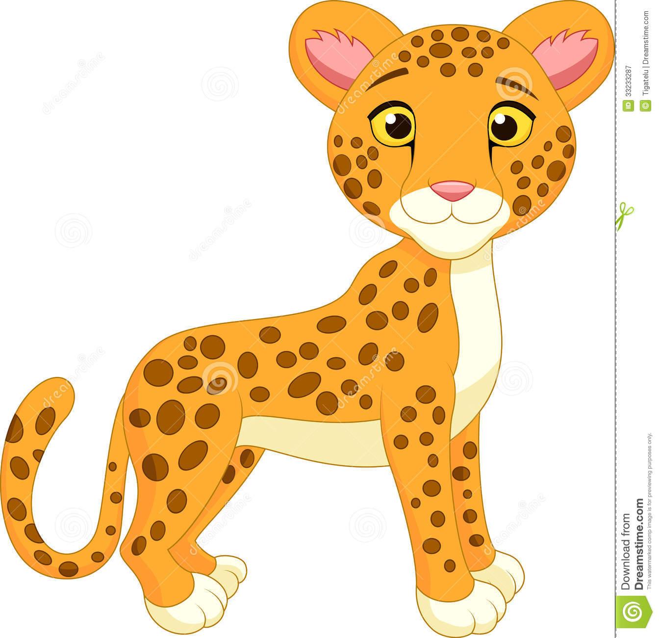 Cheetah clipart. Cartoon