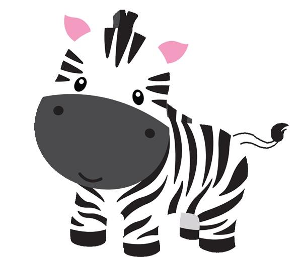 Jungle animals panda free. Clipart zebra baby boy