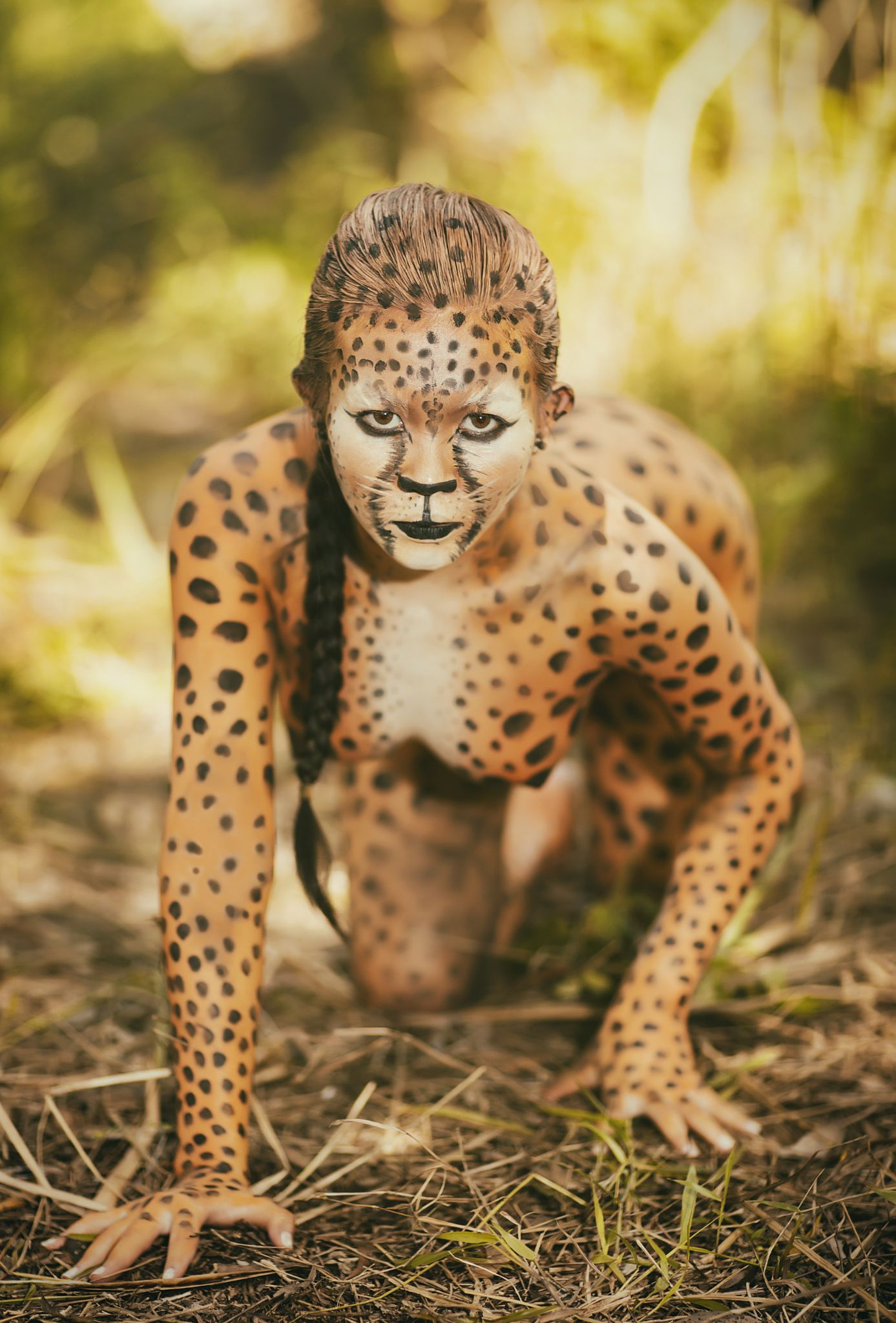Paint null inspirational photos. Cheetah clipart body