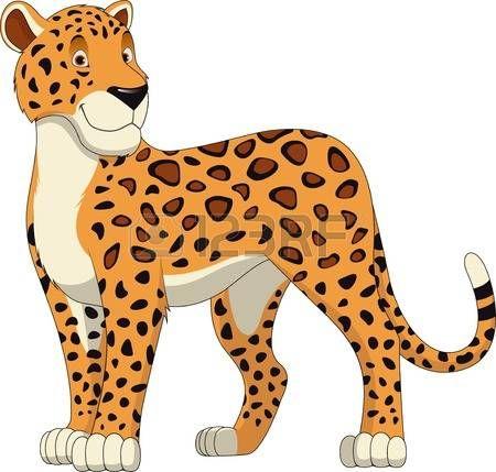 jaguar clipart cartoon