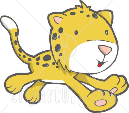 Cheetah clipart cheetah cub. Panda free images cheetahclipart