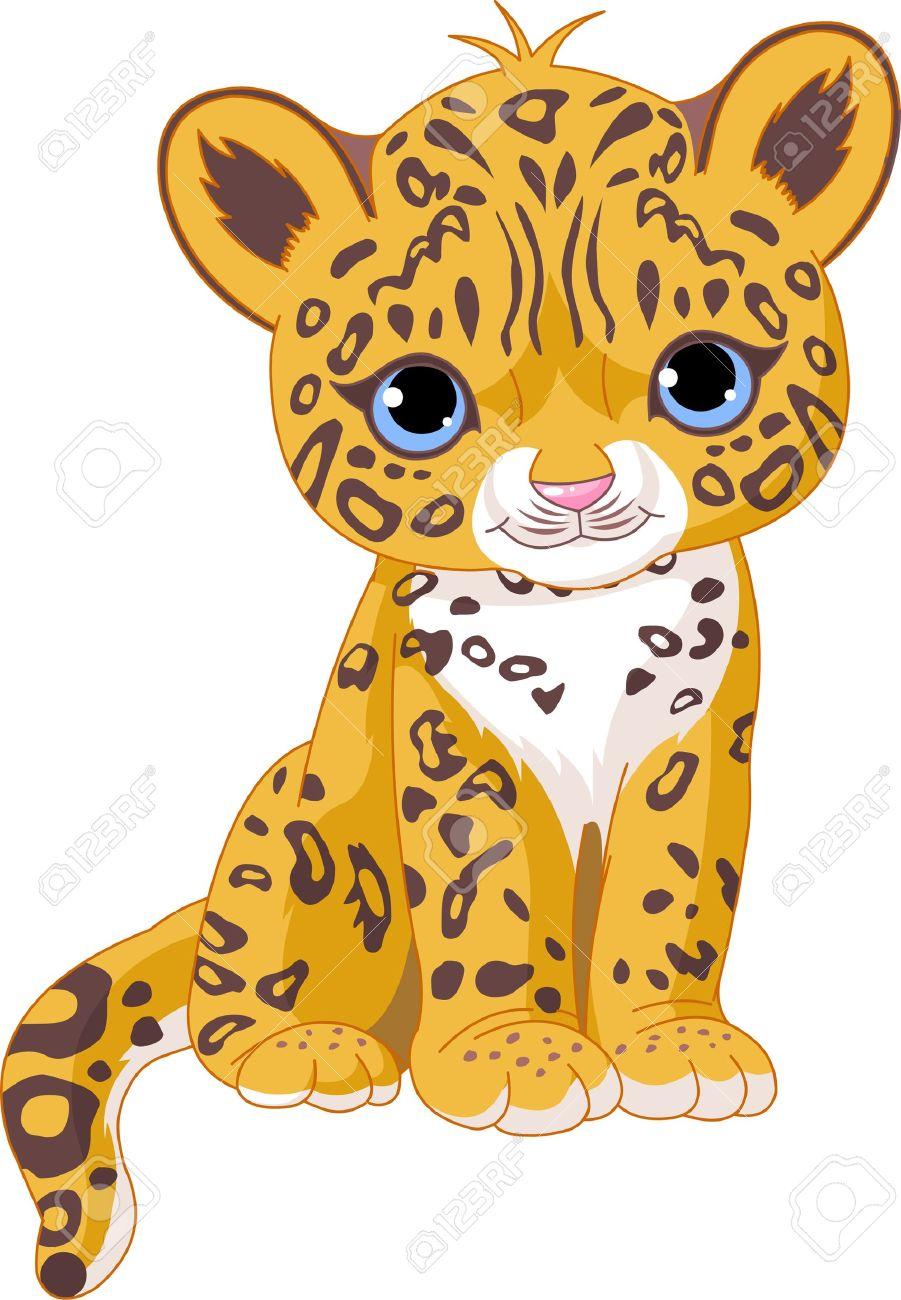 Cute . Cheetah clipart cheetah cub