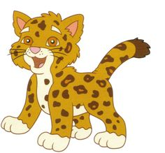 images about on. Cheetah clipart kid