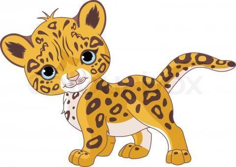Paws clip art library. Cheetah clipart kid