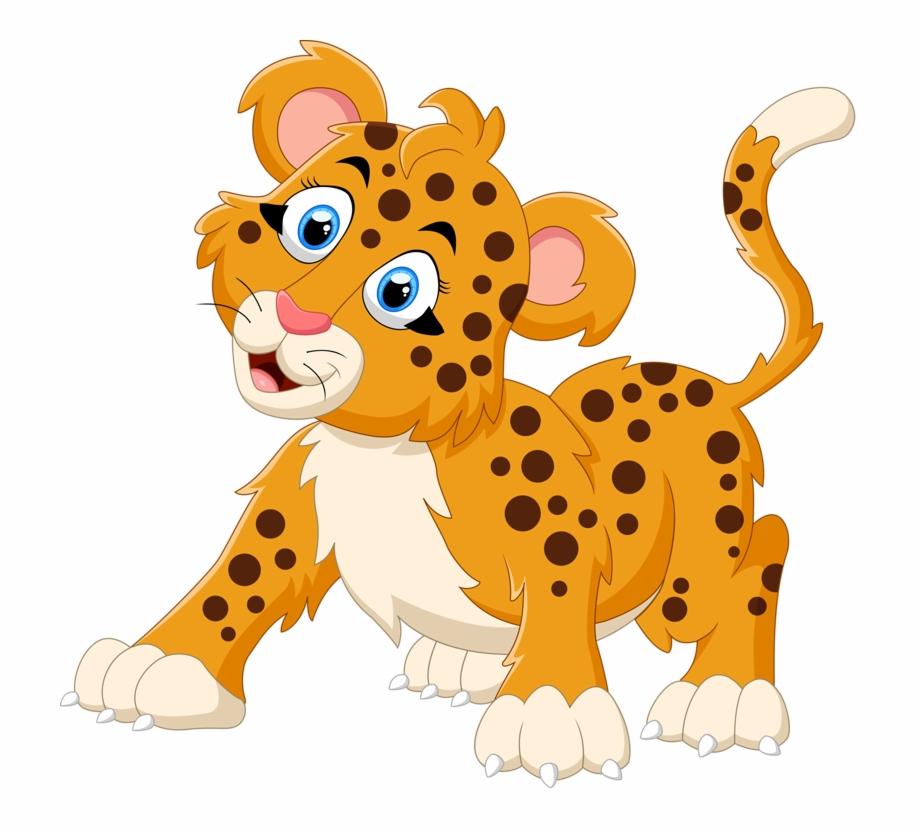 Pin by kids cartoon. Cheetah clipart kid