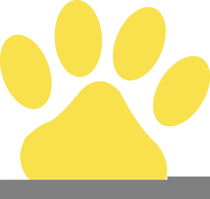 Pawprint clipart cheetah. Paw print free images