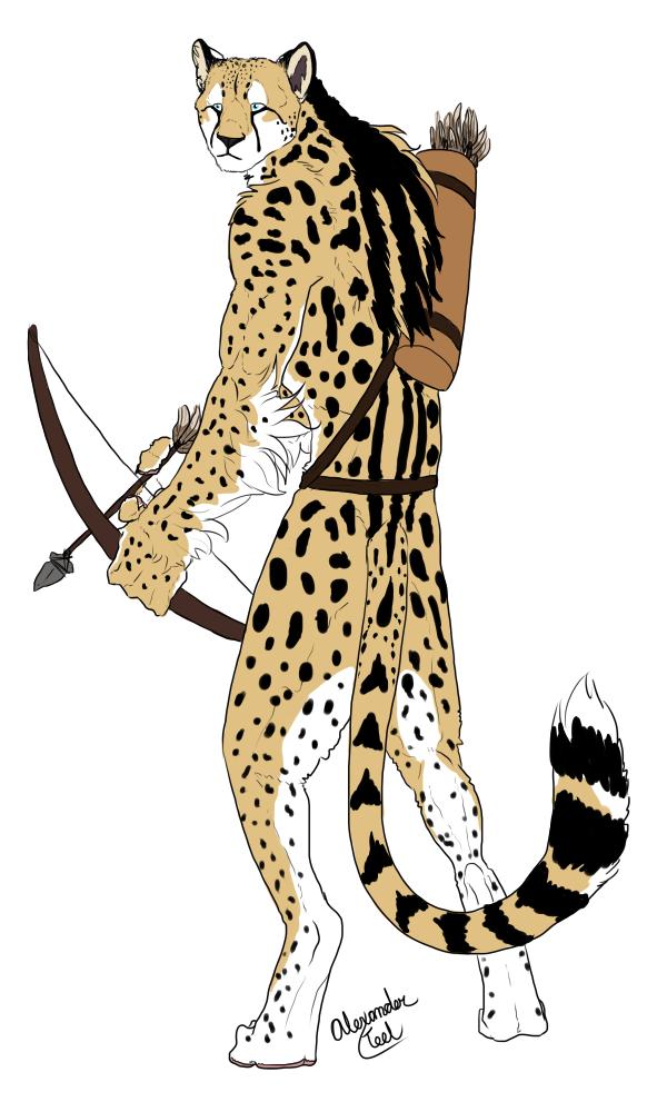 Cheetah clipart tail. King drawing at getdrawings