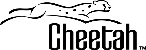 Download free for commercial. Cheetah clipart vector