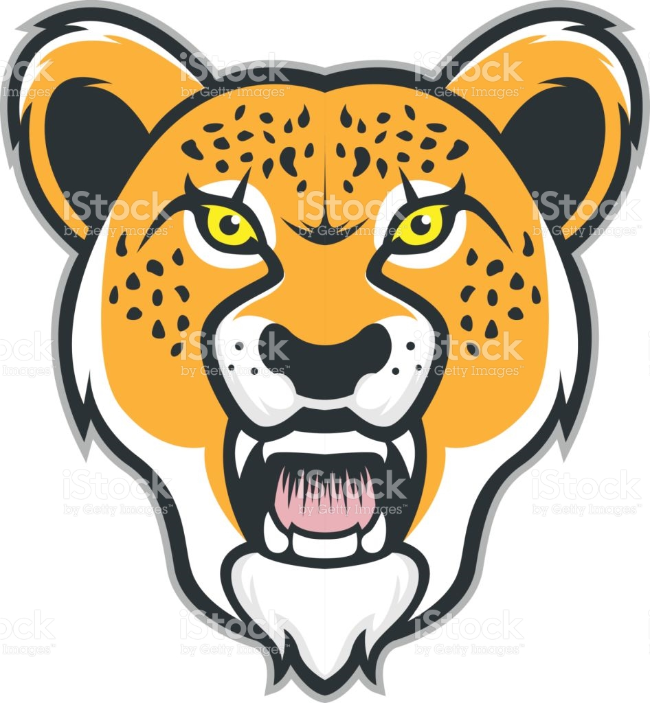 Fierce free collection download. Cheetah clipart vector