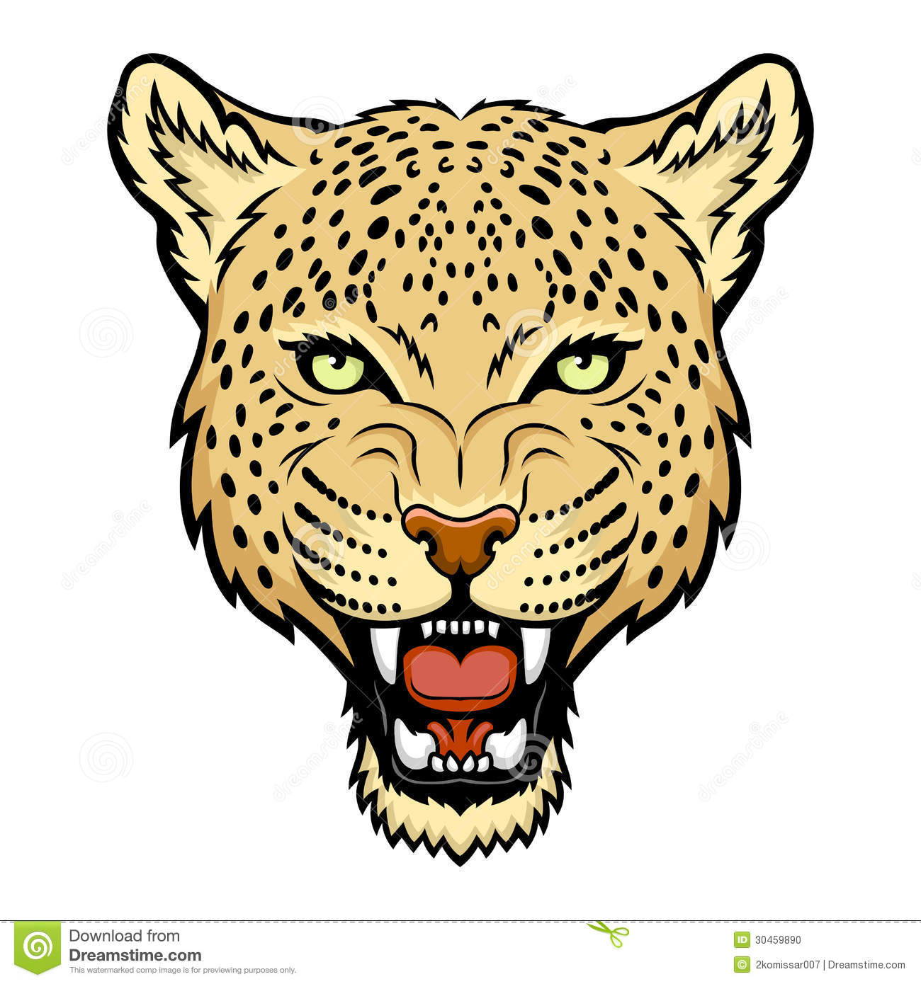 Cheetah clipart vector. Baby free download best