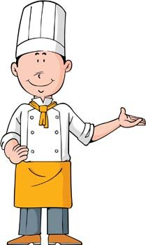 Chef clipart. Free and vector graphics