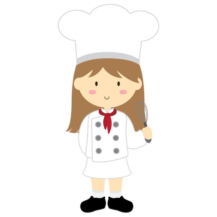 Girl clipartfest kitchen design. Chef clipart