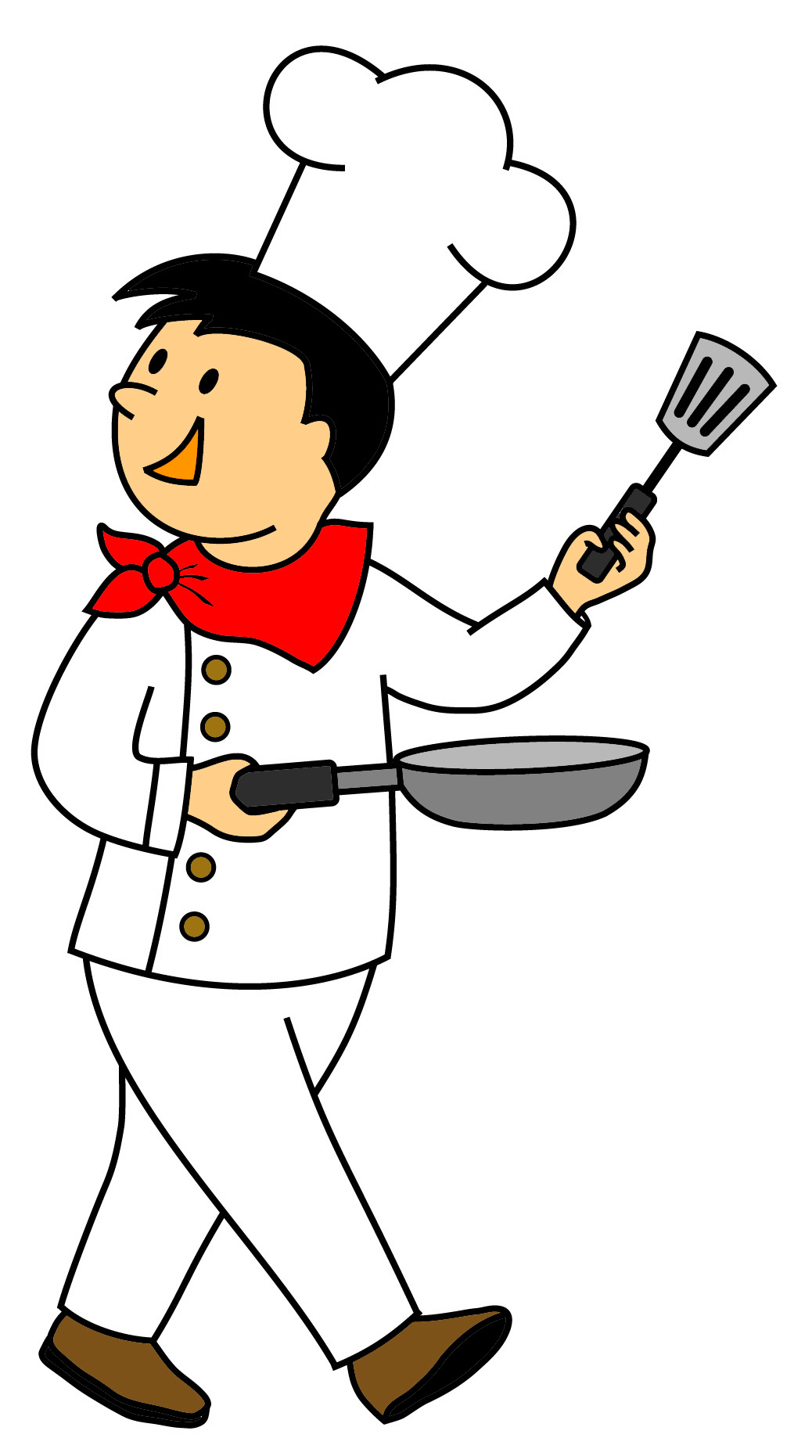 Free chef cartoon cliparts. Cooking clipart culinary