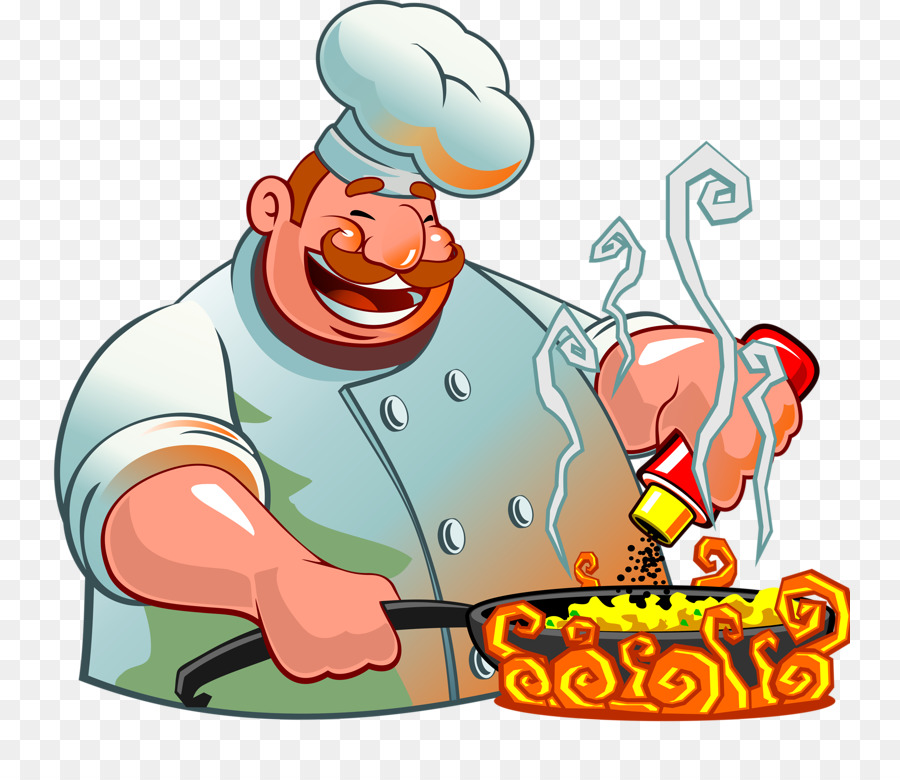 Food chef transparent clip. Cooking clipart cook chinese