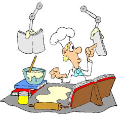 Cook clipart. Culinary chef