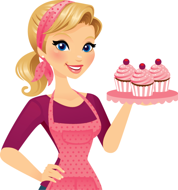 Au bon gouter recipes. Cook clipart mother baking cake