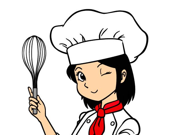 best cocineras images. Chef clipart executive chef
