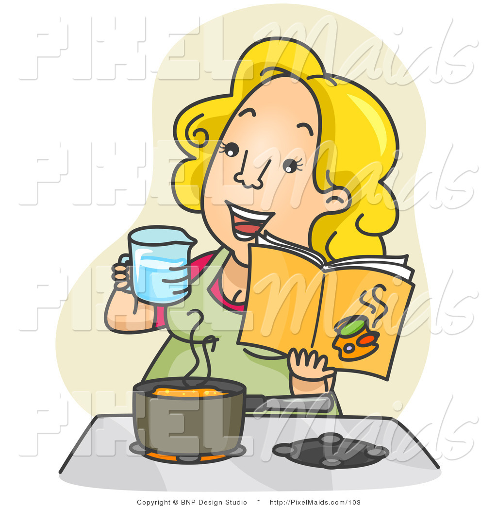Maid clipart cooking. Royalty free food preparation