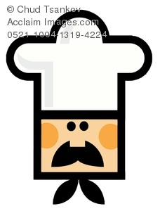 Chef clipart head chef. An italian s image