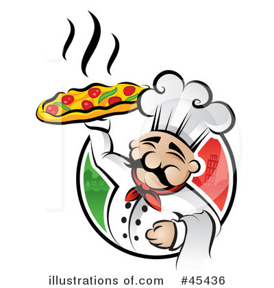 Illustration by ta images. Chef clipart hotel chef
