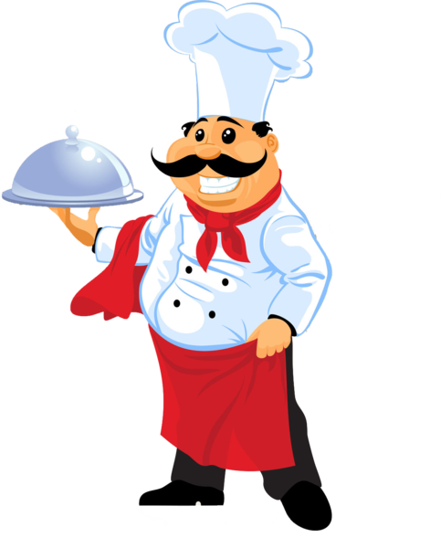 Chef clipart hotel chef. Psd official psds