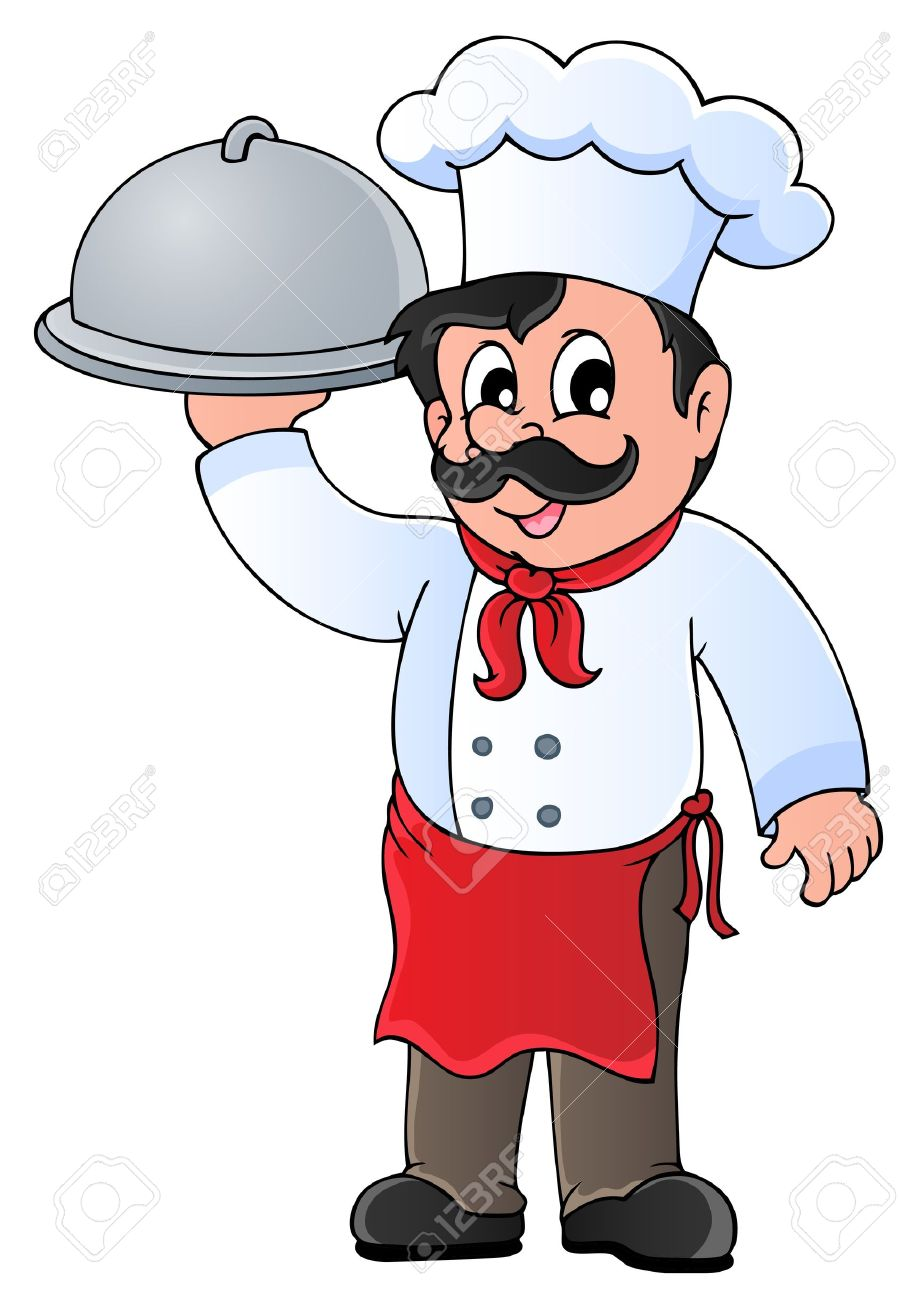 Station . Chef clipart hotel chef