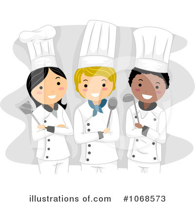 Chefs by bnp design. Chef clipart illustration