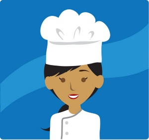 Chef clipart illustration. Free image people clip