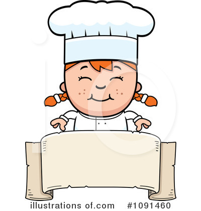 By cory thoman . Chef clipart illustration