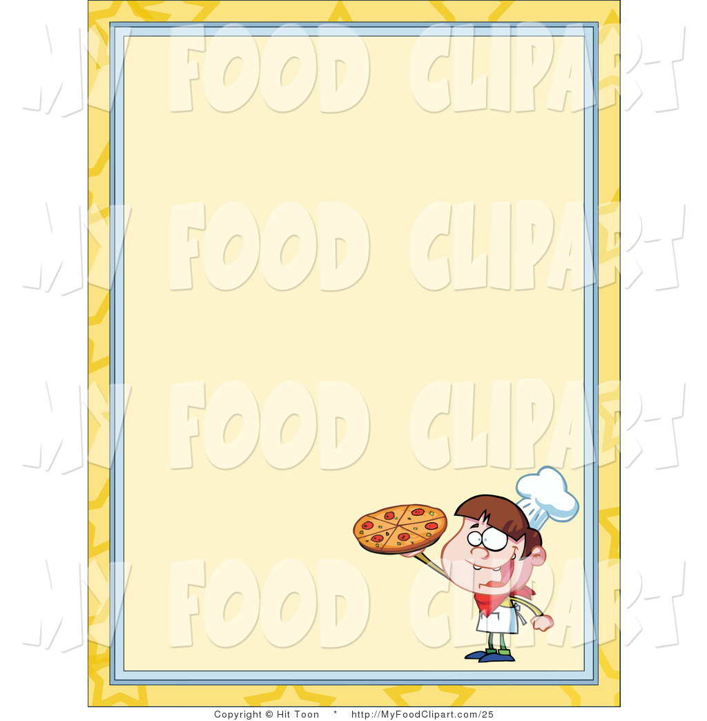 Chef clipart menu. Food clip art of