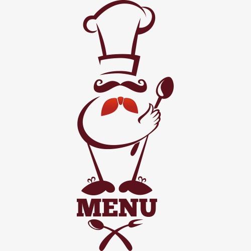 Cartoon restaurant png image. Chef clipart menu