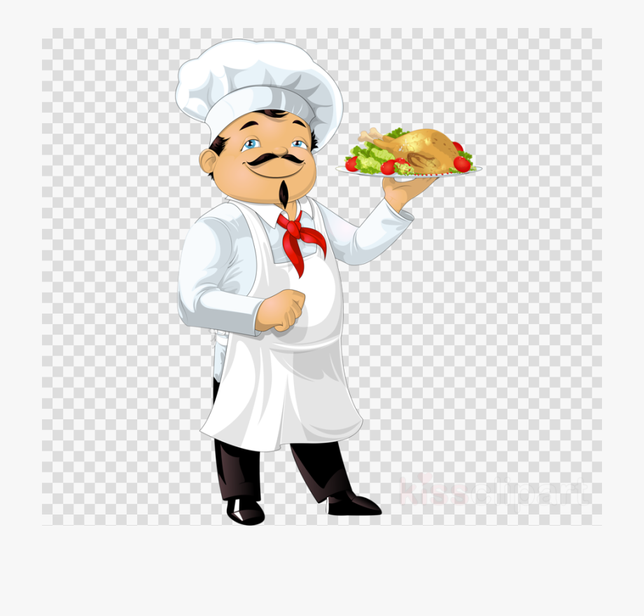 Cooking clipart restaurant chef. Transparent background magnifying glass