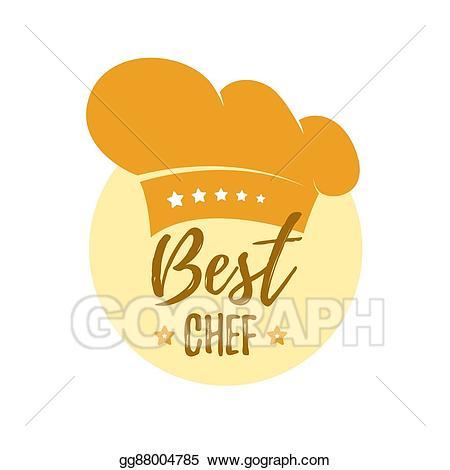 Vector stock hat best. Chef clipart top chef