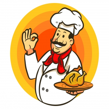 Chef png vector psd. Cook clipart cheef