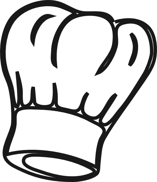 Clipart restaurant bakers hat. Chef transparent clip art