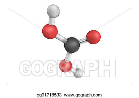 Stock illustrations d structure. Chemical clipart acid base