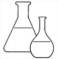 Free flasks tubes graphics. Chemical clipart black and white