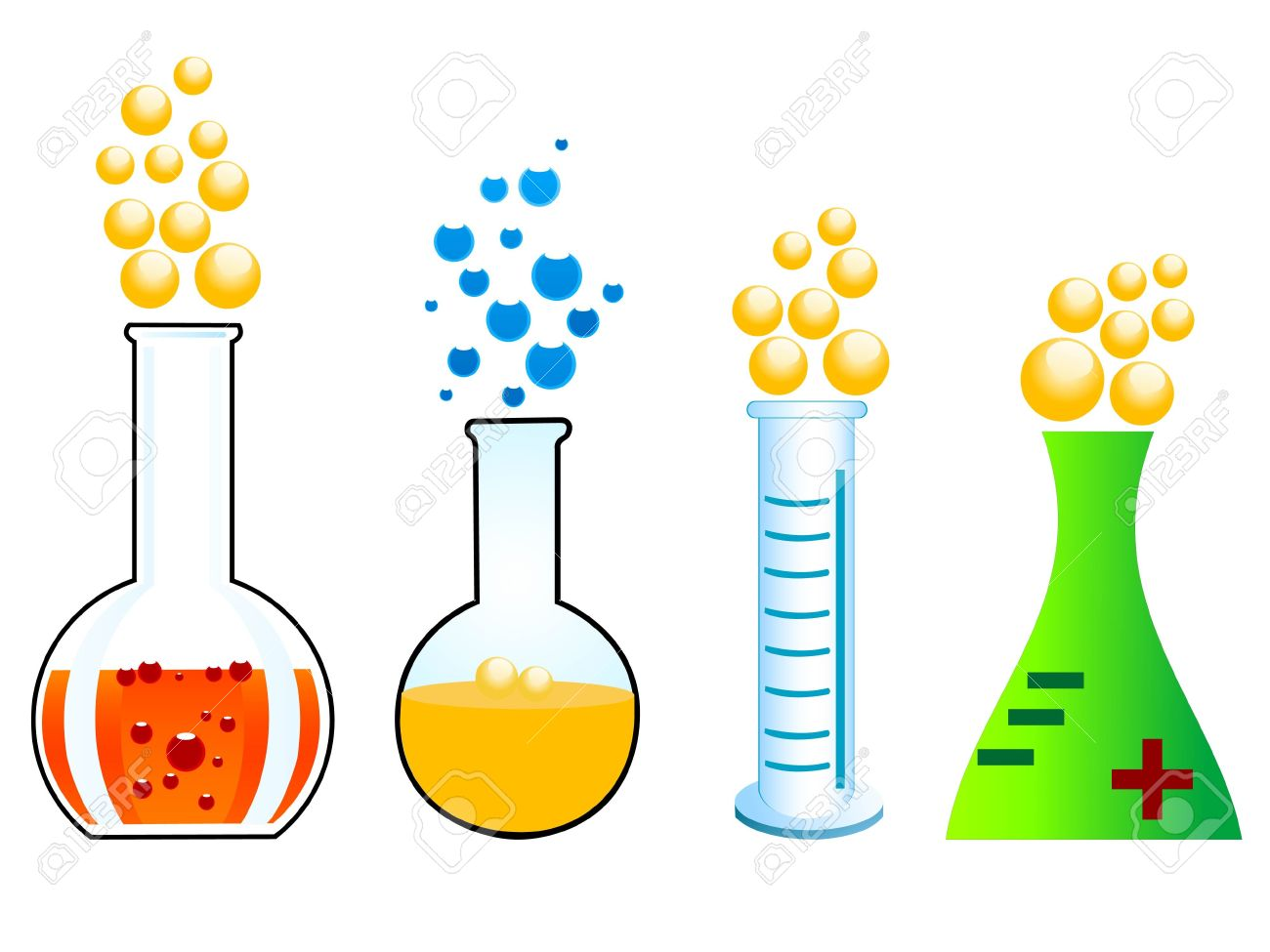 Station . Chemical clipart chemical reaction