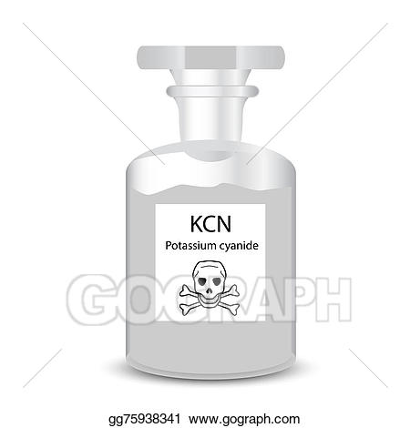 Chemical clipart container. Stock illustration with toxic