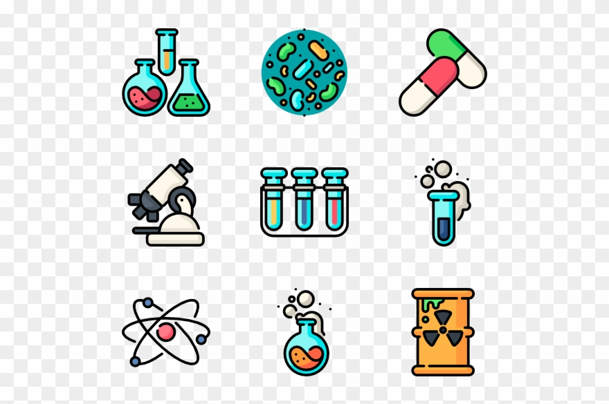 Chemistry clipart cute. Halloween transparent icons
