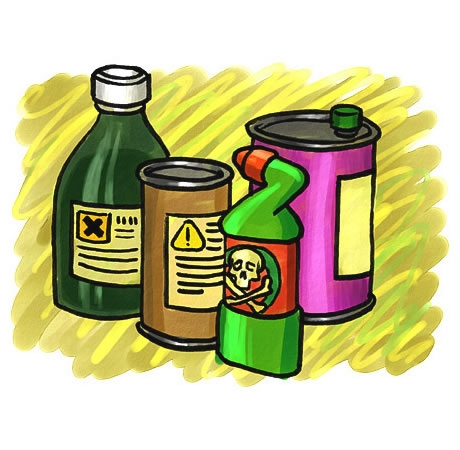 collection of chemicals. Chemical clipart dangerous chemical