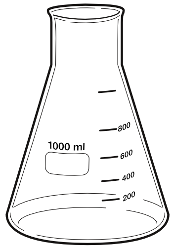 Ml science chemistry sciencechemistryflask. Chemical clipart erlenmeyer flask