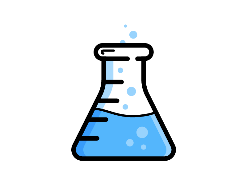 Chemistry and beaker. Chemical clipart erlenmeyer flask