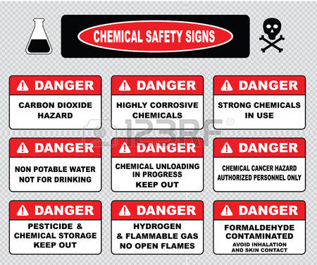 Danger pinart hazard illustration. Chemical clipart flammable