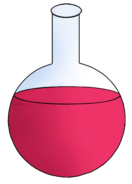 Chemistry clip art by. Chemical clipart flask