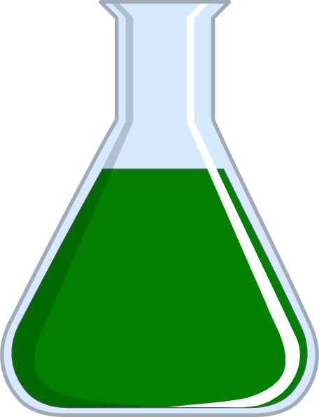 Chemistry flash clip art. Chemical clipart flask